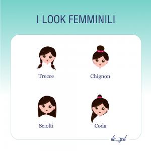 look femminili