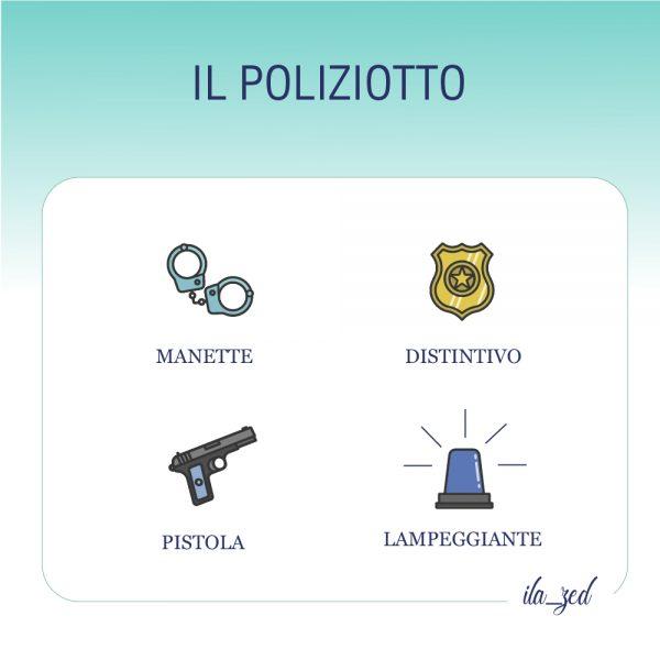 oggetti poliziotto